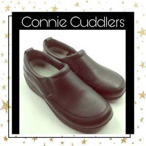 Cobbie Cuddlers Black Women's Loafers 6.5 Wide